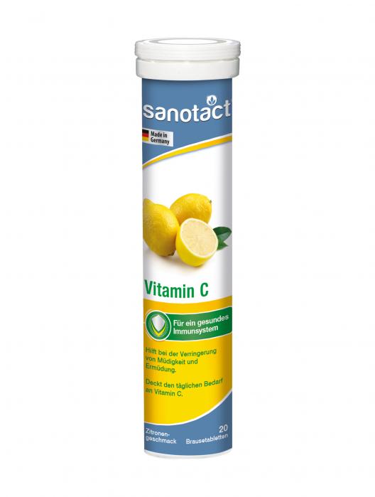 Sanotact Vitamina C 240 mg tab. eferv. 0