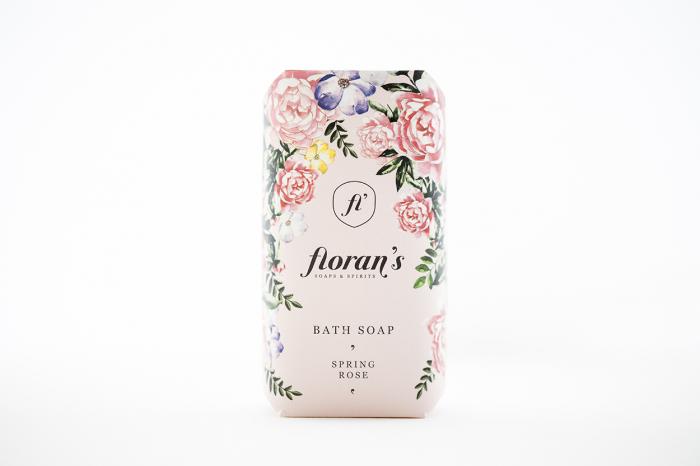 Sapun Rose (Trandafir) - Parfumul frumuseții x 200 g Florans 1