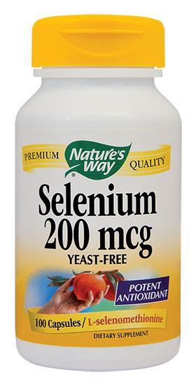 Selenium 200 mcg 60 cps Secom 0