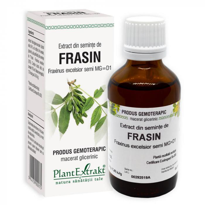 Extract din seminte de FRASIN ( Fraxinus excelsior Semi MG = D1 ) 50ml Plant Extrakt 0