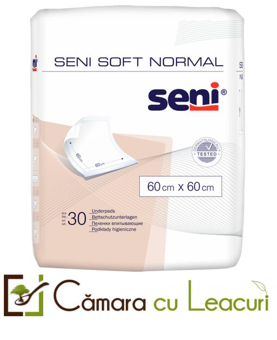 Aleze Igienice de Protectie Seni Soft Normal  60x60 30 buc 0