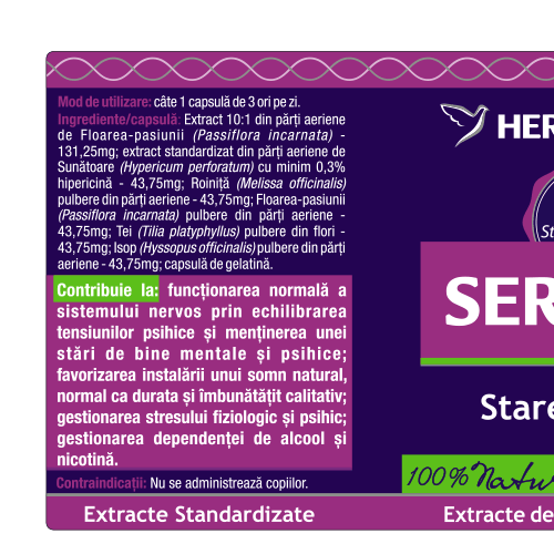 Serensis+ 60 cps Herbagetica [1]