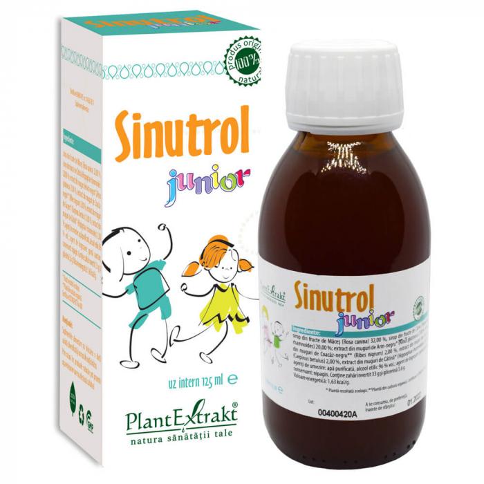 SINUTROL JUNIOR 125 ML Plant Extrakt 0