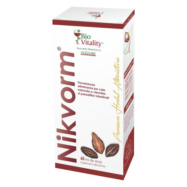 Nikvorm Sirop x 60 ml BioVitality 0