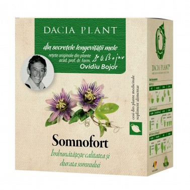 Somnofort Ceai 50 g Dacia Plant 1