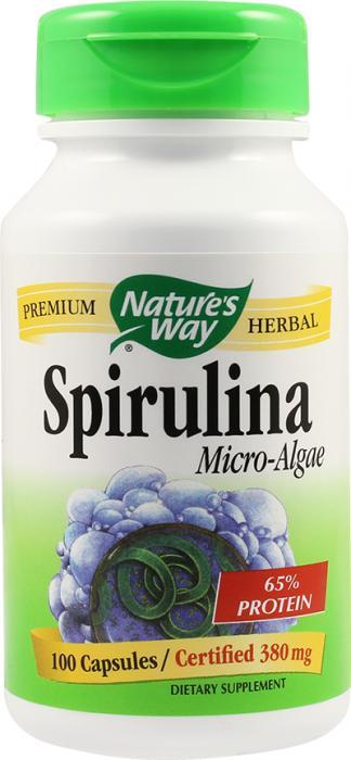 Spirulina Micro Algae 380 mg 100 cps Secom [0]