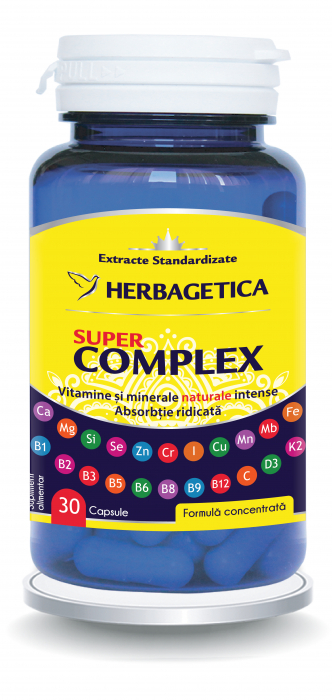 Super Complex 30 cps Herbagetica 0
