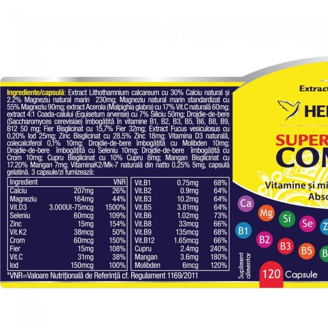 Super Complex 30 cps Herbagetica 1
