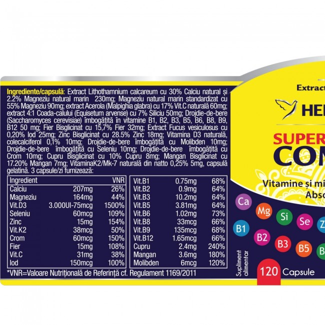 Super Complex 120 cps Herbagetica 1