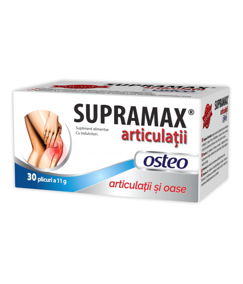 Supramax Articulatii Osteo 30 plicuri Zdrovit 0