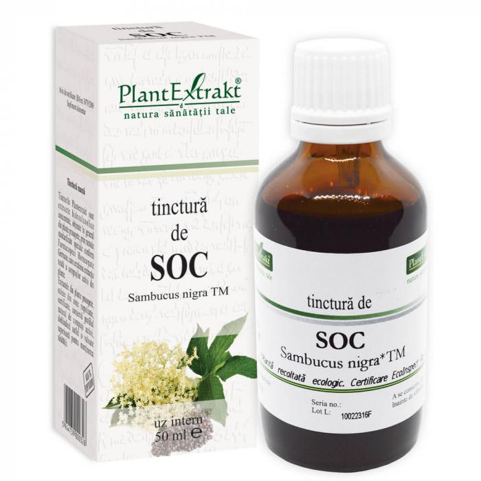 Tinctură de soc TM ( SAMBUCUS NIGRA ) 50ML Plant Extrakt 0