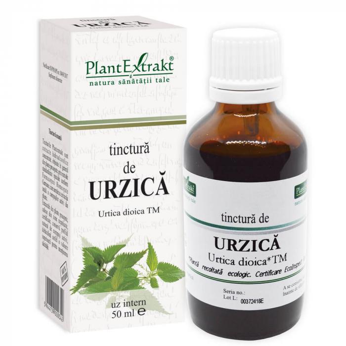 Tinctură de urzică ( URTICA DIOICA ) TM 50ML Plant Extrakt 0