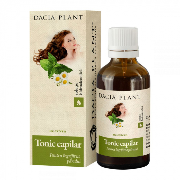 Tonic Capilar Tinctura 50 ml Dacia Plant [0]