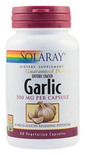 Garlic (Usturoi) 500 mg 60 cps Secom 0