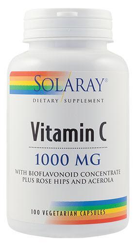 Vitamina C 1000 mg Adulti x100 cps Secom 0