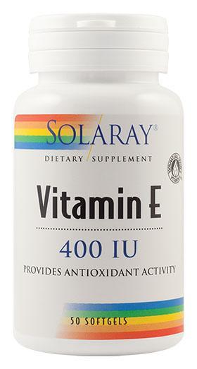 Vitamina E 400 UI 50 cps Secom 0
