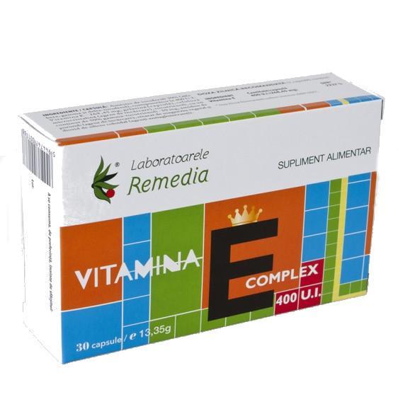 Vitamina E Complex 400 UI 30 cps Remedia [0]