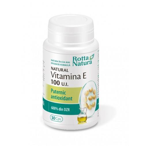 Vitamina E Naturala 100 U.I. 30 cps Rotta Natura 0