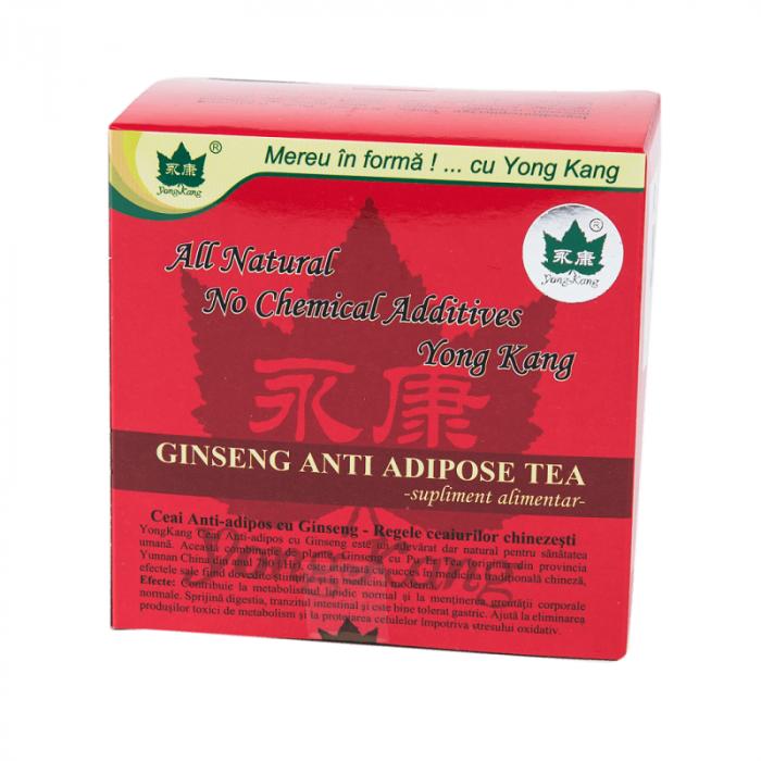 Ceai Antiadipos cu Ginseng x 30 plicuri Yong Kang [0]