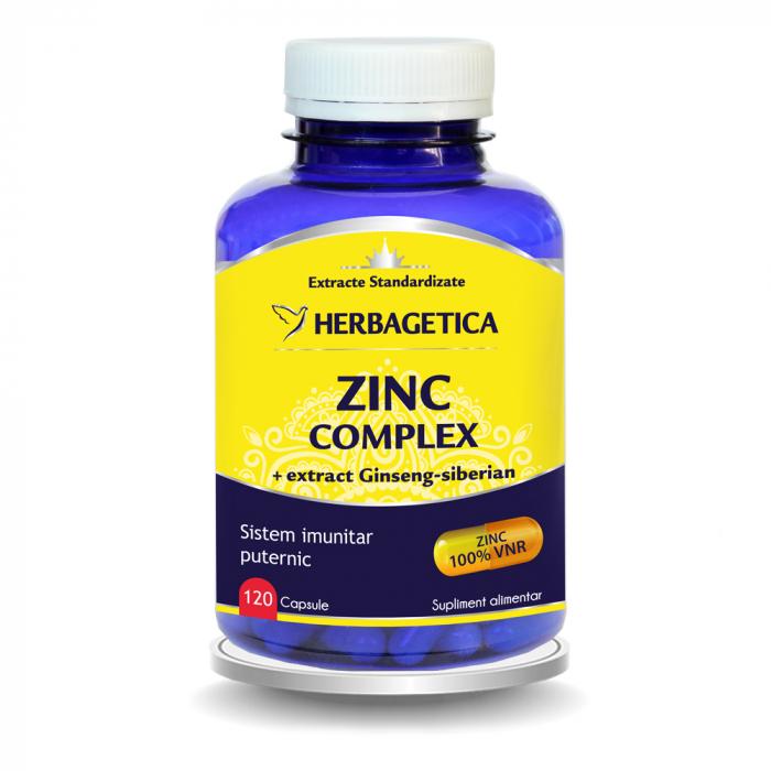 Zinc Complex 120 cps Herbagetica 0