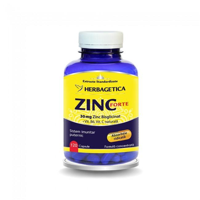 Zinc Forte 120 cps Herbagetica 0