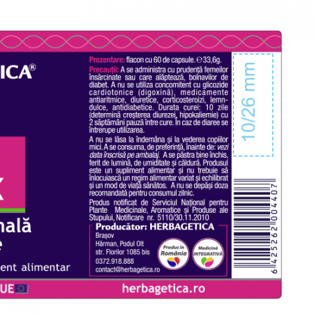 Aloe Ferox 120 cps Herbagetica [2]