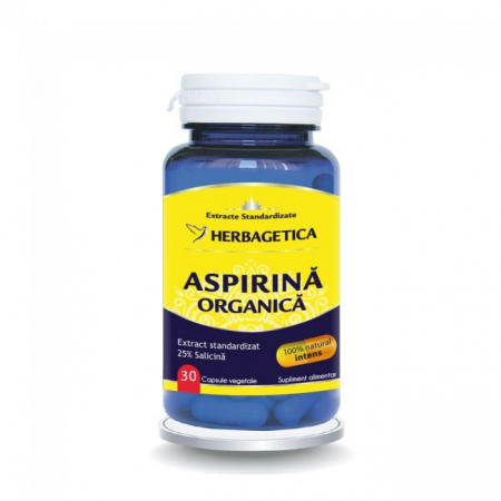 Aspirina Organica 30 cps Herbagetica [0]