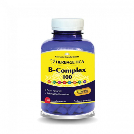 B Complex 100 120 cps Herbagetica0