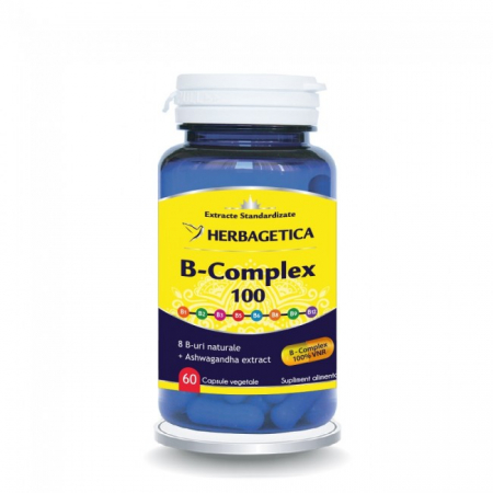 B Complex 100 30 cps Herbagetica0