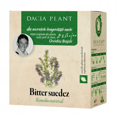 Bitter Suedez Ceai 50 g Dacia Plant1