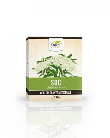 Ceai Flori Soc 50 g Dorel Plant0