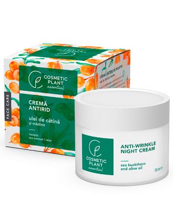 Crema Antirid de Noapte cu Ulei de Catina si Masline 50 ml - Essential - Cosmetic Plant [0]