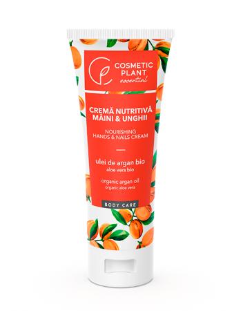 Crema Nutritiva cu Argan pentru Maini si Unghii 100 ml Cosmetic Plant [0]