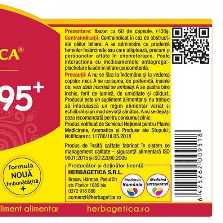 Curcumin + 95 C3 Complex 60 cps Herbagetica2