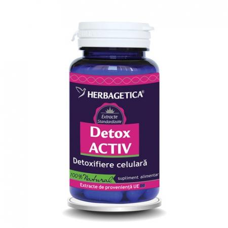 Detox Activ 60 cps #vara Herbagetica0