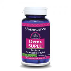 Detox Suplu 60 cps Herbagetica [0]