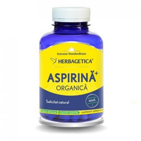 Aspirina Organica 120 cps Herbagetica0