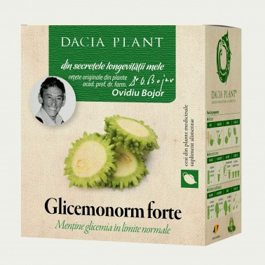 Glicemonorm Forte Ceai 50 g Dacia Plant1