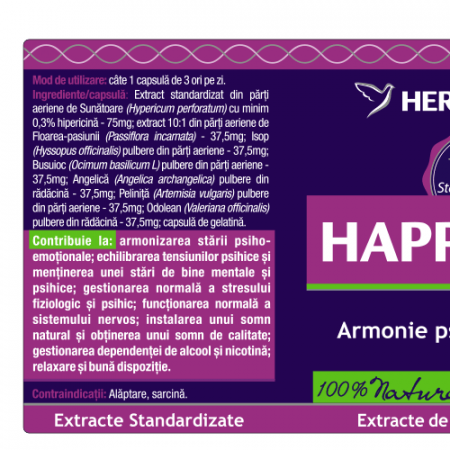 Happy Vibe 60 cps Herbagetica [4]
