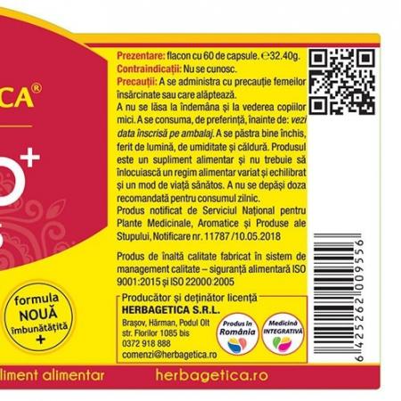 Hepato Curcumin 95 60 cps Herbagetica [2]