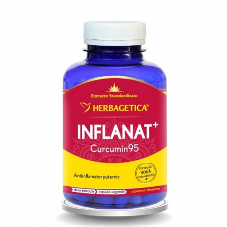 Inflanat Curcumin 95 120 cps Herbagetica0