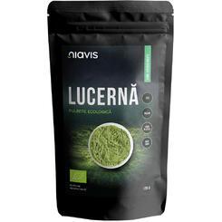 Lucerna Alfalfa Pulbere 100% Naturala 125 g Niavis [0]