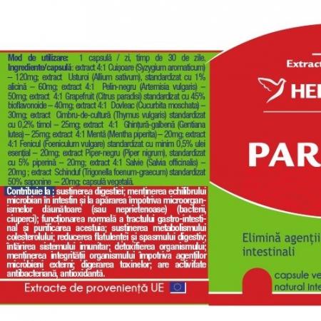 Parasites 12 Detox Forte x 30 cps  #vara Herbagetica1