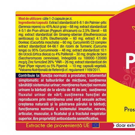 Prostato Curcumin 95 30 cps Herbagetica [1]