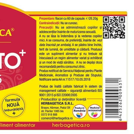 Prostato Curcumin 95 30 cps Herbagetica [2]