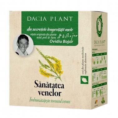 Sanatatea Venelor Ceai 50 g Dacia Plant1