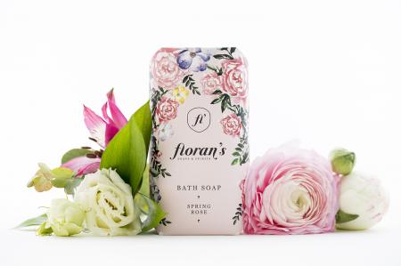 Sapun Rose (Trandafir) - Parfumul frumuseții x 200 g Florans [0]