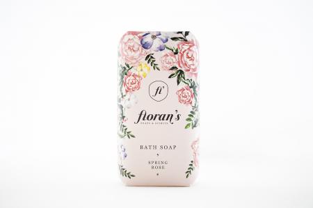 Sapun Rose (Trandafir) - Parfumul frumuseții x 200 g Florans [1]