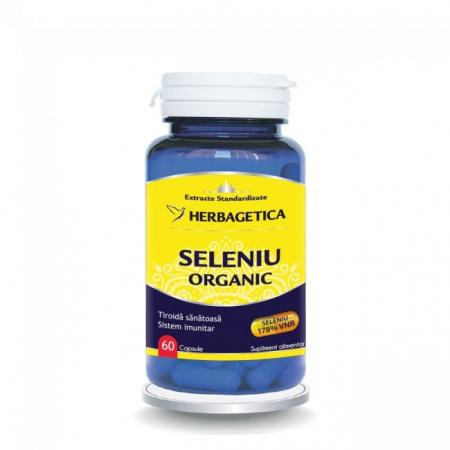 Seleniu Organic 60 cps Herbagetica0