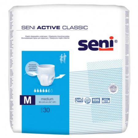Seni Active Classic - Scutece Adulți Medium 30 buc [0]